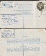 Irlande 1978. Enveloppe, Entier Recommandé à 37 P - Entiers Postaux