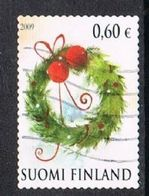 Finland 2009 Christmas 60c Type 1 Good/fine Used [13/13920/6D] - Finland