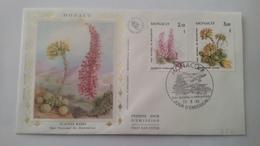 MONACO ..1°  Jour.d'émission..FDC ..1985.Timbre...parc National Du MERCANTOUR Plantes Rares - Joint Issues