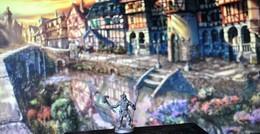 Rare Figurine  En Plomb Pour Jeux De Rôles 3 Cm Années 80 - Group Games, Parlour Games
