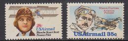 USA 1980 Airmail Scott / Curtiss 2v ** Mnh (41800F) - Luchtpost