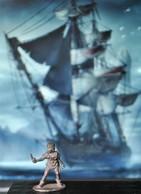 Rare Figurine  En Plomb Pour Jeux De Rôles 3 Cm Années 80 - Soldats De Plomb