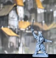 Rare Figurine  En Plomb Pour Jeux De Rôles 3.5 Cm Années 80 - Soldats De Plomb