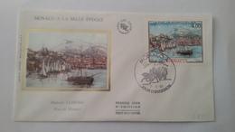 MONACO ..1°  Jour.d'émission..FDC ..1985.Timbre...HUBERT CLERISSI .port De Monaco - Joint Issues