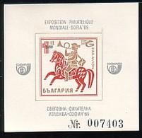 "BULGARIA / BULGARIE / BULGARIEN - 1969 - ""Sofia 69"" Exposition Philatelique International - Bl Souvenir - Blocks & Sheetlets"