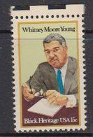 USA 1981 Whitney Moore Young / Black Heritage 1v ** Mnh (41801) - Verenigde Staten