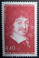 France Neuf 1996 Célébrité Descartes Philosophie Mathématique - Nuevos