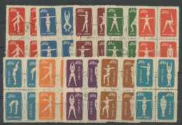 Chine (1952) N 933 A 942C (o) Bloc De 4 - 1949 - ... République Populaire