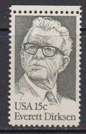 USA 1981 Everett Dirksen 1v ** Mnh (41801C) - Verenigde Staten