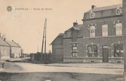 Forville  Route De Seron Magasin De Porcelaines Et De Merceries Circulé En 1922 - Fernelmont
