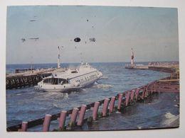 Hydrofoil  1985 Year / Kolobrzeg  / Poland - Boten