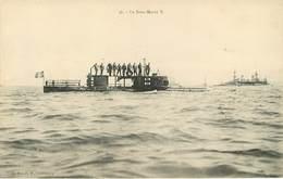 Bateaux De Guerre - Sous Marins - Le Sous Marin X - Collection P.B. Cherbourg - état - Guerra