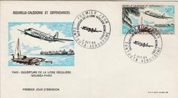 Tontouta 1969 - FDC Avion - FDC