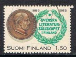Finland SG1070 1985 Centenary Of Swedish Literature In Finland Society 1m.50 Good/fine Used [13/13937/6D] - Finland
