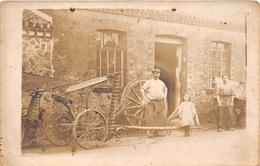 ¤¤  -  FROSSAY  -   Carte-Photo Du Charron , Rue Du Calvaire    -  ¤¤ - Frossay