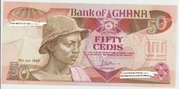 Ghana 50 Cedis 1986 Pick 25 UNC FDS - Ghana