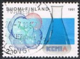 Finland SG1270 1991 Centenary Of Organized Chemistry In Finland 2m.10 Good/fine Used [13/13931/6D] - Finland
