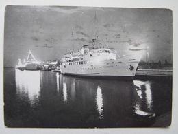 Polish Cruiser M/S Mazowsze 1962 Year - Boten