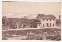 Cpsm  91 Lardy Vue Sur La Gare - Lardy