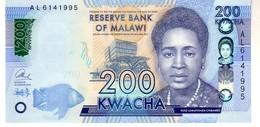 Malawi P.65 200 Kwacha 2016  Unc - Malawi