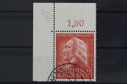 Deutschland (BRD), MiNr. 175, Ecke Links Oben, Gestempelt - [7] République Fédérale
