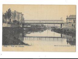 Pecq  Des Bateau Près De L'ancienne Pont Sur L'Escaut  ( Top ) - Pecq
