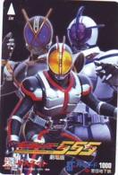 Carte Prépayée Japon * MANGA * Comics * MASKED RIDER  (16.809)  Japan Prepaid Card * TOSHO Karte * CINEMA * FILM - BD
