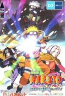 Carte Prépayée Japon * MANGA * Comics * NARUTO  (16.808)  Japan Prepaid Card * TOSHO Karte * CINEMA * FILM - BD