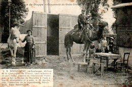 Dieppe (76) : Campement Du Globe Trotter Doussineau - Dieppe
