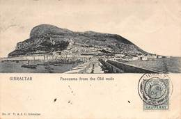 Gibraltar - Panorama From The Old Mole - Gibraltar