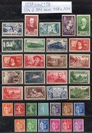 Année Complète 1937 N° 309 à 333 Sans N° 348 à 351 Cote: 258,69 € à 15% De La Cote  Neuf * TTB - France