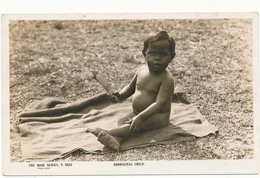 AUSTRALIA - Aboriginal Child, Boomerang - Aborigènes
