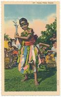 FIDJI - Young Fijian Dancer - Fidji