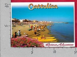CARTOLINA VG ITALIA - CATTOLICA (RN) - La Spiaggia - 10 X 15 - ANN. 2003 - Rimini