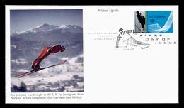 2002 FDC Salt Lake City Winter Olympics Games Winterspiele Jeux Olympiques Saut Ski Jumping - Winter 2002: Salt Lake City
