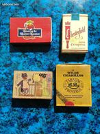 Lot Boîtes Allumettes Rempli Vintage - Boites D'allumettes