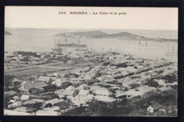 OCEANIE - NOUVELLE CALEDONIE - NOUMEA - La Ville Et Le Port - Nouvelle-Calédonie