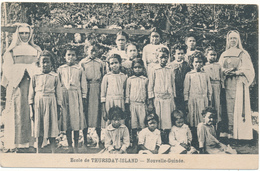 NOUVELLE GUINEE - Ecole De Thursday Island - Soeurs Missionnaires - Missions
