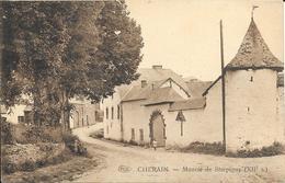 "Cherain ""Gouvy"" P.I.B.-Manoir De Sterpigny (XIIe S.)-Ed: Otto L'Hoest, Négociant, Cherain - Circulé:1929 -Voir 2 Scans - Gouvy"