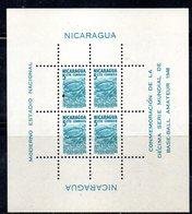 BF102 - NICARAGUA 1949 , Il Foglietto N. 63 STADIO E BASEBALL  *** - Nicaragua