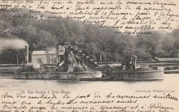 Une Drague à Beez-Meuse Circulé En 1910 - Namur
