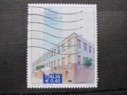 *ITALIA* USATI 2005 - LICEO CLASSICO CAMPANELLA - SASSONE 2821 - LUSSO/FIOR DI STAMPA - 6. 1946-.. Repubblica