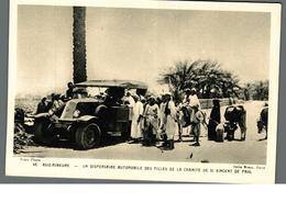 Cpa Ethnique Asie Mineure Un Dispensaire Automobile Des Filles De La Charité De St Vincent De Paul Déstockage à Saisir - Asie