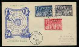 Terre Adelie Du 20/01/1959 Destination Edinburgh (Ecosse) - Terres Australes Et Antarctiques Françaises (TAAF)