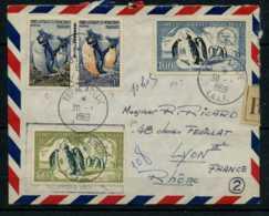 Terre Adelie Du 30/01/1959 A Destination De Lyon - Terres Australes Et Antarctiques Françaises (TAAF)