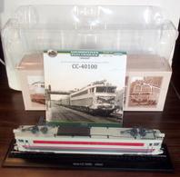 Locomotives Electriques De Légende : Cc-40100-Atlas - Bateaux