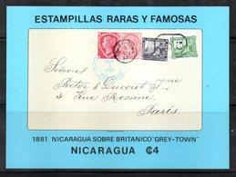BF100 - NICARAGUA 1976 , Il Foglietto N. 130  FRANCOBOLLI RARI  ** - Nicaragua