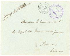 ISERE ENV 1916 CHAPAREILLAN FM DETACHEMENT CAMP DE PRISONNIERS DE GUERRE - 1877-1920: Période Semi Moderne