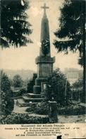 Reichshoffen Froeschwiller Monument Des Soldats Français Carte Rognée - Autres Communes