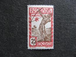 Guyane: TB N°116,  Neuf X. - Unused Stamps
